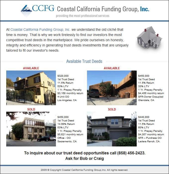 Coastal California Funding Group, Inc.
